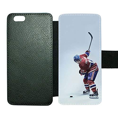 Las Fundas De Soporte para Tarjetas De Espera Compatible iPhone 6Plus 6Splus 5.5Inch Impresión Hockey 5 para Niños Fuera De Lo Común Choose Design 114-4