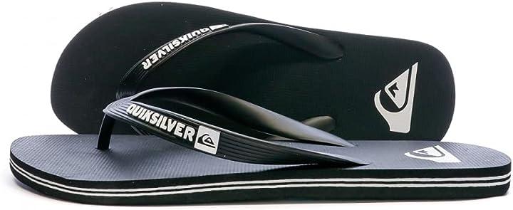 Infradito quiksilver uomo molokai - flip-flops for men scarpe da spiaggia e piscina AQYL100601