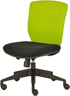 プラス オフィスチェア NEXIS C02 グリーン/ブラック KC-NX616SL YG