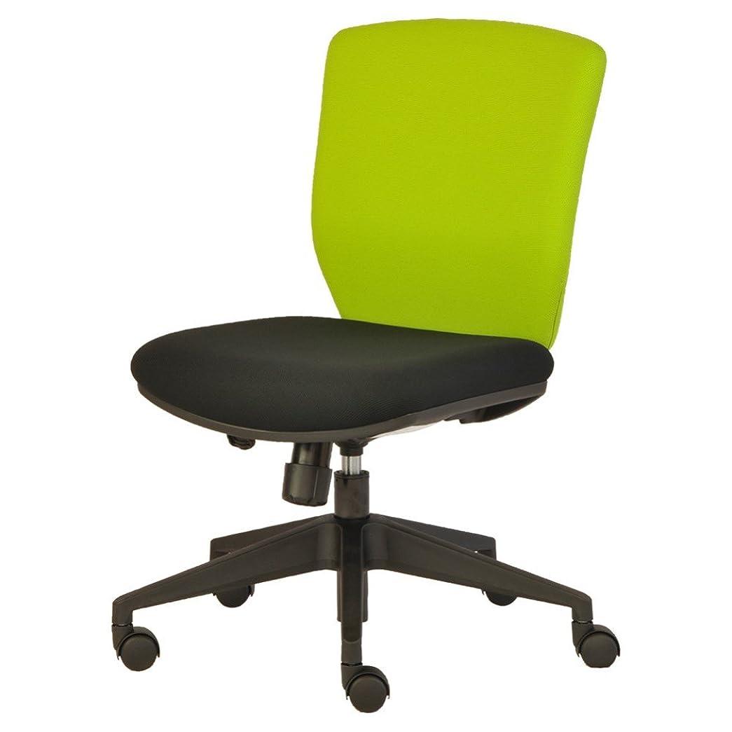 シャービーズ暖かさプラス オフィスチェア NEXIS C02 グリーン/ブラック KC-NX616SL YG