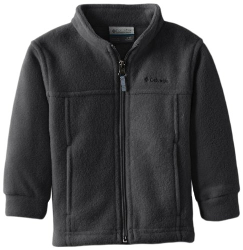 Columbia Baby Boys' Steens Mt II Fleece, Charcoal Heather, 18-24 Months