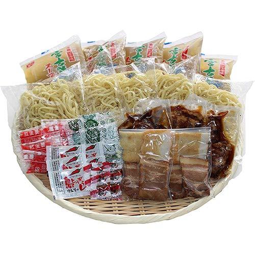 宮古そば ゆで麺 食べ比べ5食セット ストレートスープ 久松製麺所 宮古島版沖縄そば コシのある麺とあっさり澄み切ったスープ