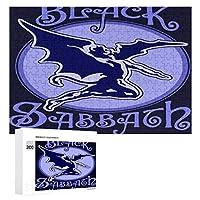Black Sabbath ブラックサバス4 300ピースのパズル木製パズル大人の贈り物子供の誕生日プレゼント