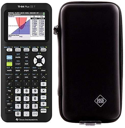 rekenmachine TI 84 Plus CE-T mit Schutztasche zilver