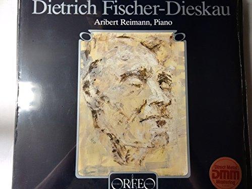 ZELTER, Carl Friedrich: Lieder -- Dietrich Fischer-Dieskau (baritono), Aribert Reinmann (piano) -- Orfeo (1984) ---ORF S 097841-Vinyl LP-ORFEO - Germania-ZELTER Friedrich Carl-FISCHER-DIESKAU Dietrich