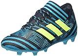adidas Nemeziz 17.1 FG J, Zapatillas de Fútbol, Azul (Dunkelblau/Türkis Dunkelblau/Türkis), 35.5 EU