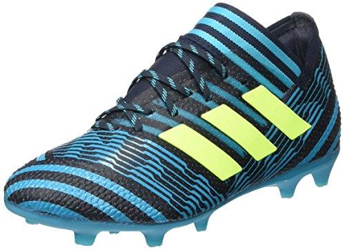 adidas Unisex-Kinder Nemeziz 17.1 FG Fußballschuhe, Blau (Legend Ink/solar Yellow/Energy Blue), 36 2/3 EU