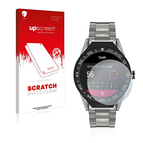 upscreen Schutzfolie kompatibel mit Tag Heuer Connected Modular 45 – Kristallklar, Kratzschutz, Anti-Fingerprint