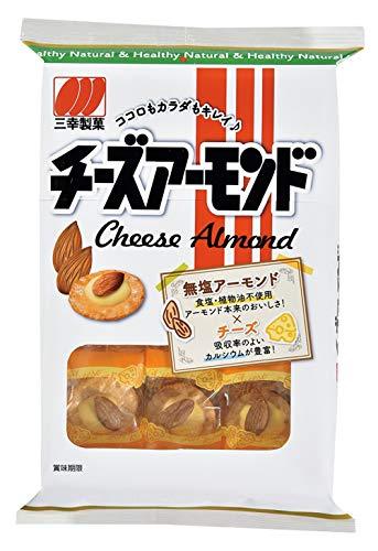 三幸製菓 チーズアーモンド 16枚×8袋
