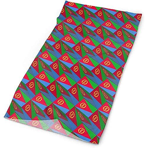N/A Balaclava,Headscarve,Bandanas,Neck Warmer,Gaiter,Magic Headband,Neck Wrap,Eritrea Flag 3D Art Pattern High Performance Scarf Seamless Sweatband Moisture Wicking Sport Headwear Multi Function
