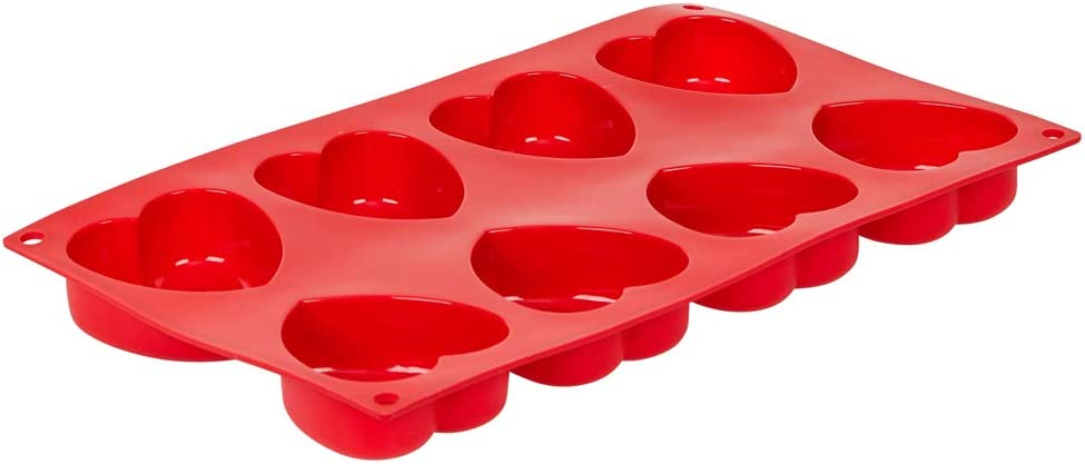Cash special price 8-Cavity Mini Heart Silicone Baking Mold Free Ba Phoenix Mall BPA Non-Stick