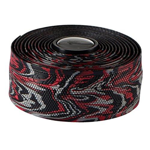 Lizard Skins li9702. WIL-Schleifenband Vorbau Fahrrad Unisex Erwachsene, Rot/Schwarz, 1,8mm