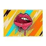 poster rock icona pop art retro vintage, quadri da parete per arredo soggiorno, camera, cucina | 30x42 cm stampe d'arte