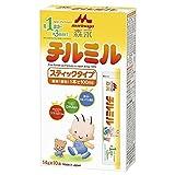 森永 フォローアップミルク チルミル スティックタイプ 14g×10本 [満1歳頃~3歳頃 粉ミルク]