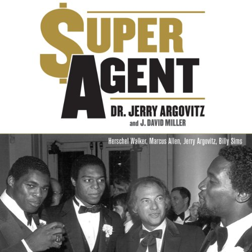 Super Agent audiobook cover art