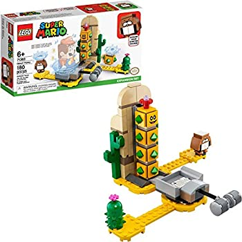 LEGO Super Mario Desert Pokey Expansion Set 71363 Building Kit  Toy for Creative Kids to Combine with The Super Mario Adventures with Mario Starter Course  71360  Playset  180 Pieces