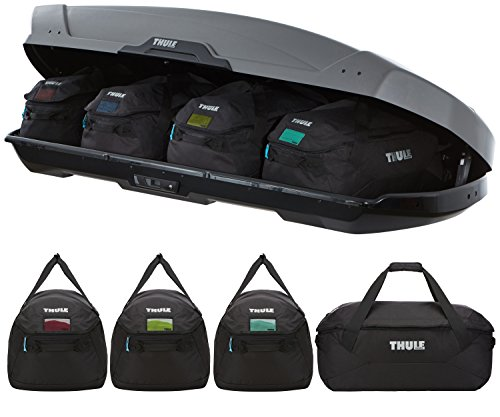Thule 8006 Go Pack Set of 4 Cargo Carry Bags Holdalls | Roof Box NOT Included
