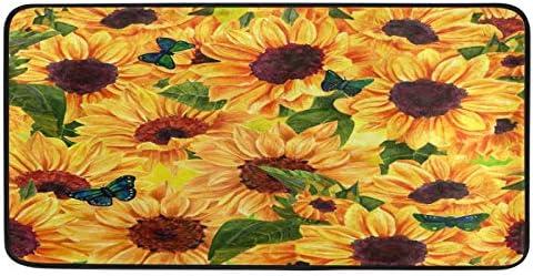 Door Mat Floral Flower List Minneapolis Mall price Sunflower Summer Indo Butterfly Floor