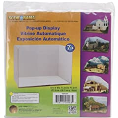 A great piece for to add to your diorama It's dimensions are 10-3/4x7-3/8x7-1/2 inches This package contains one pop-up display Pop-Up Display Made in USA