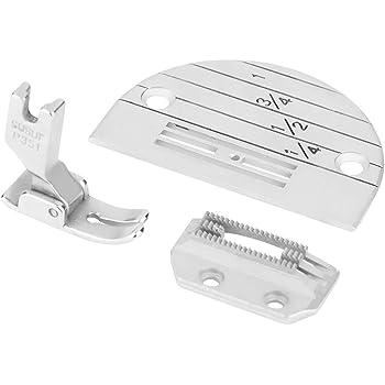 Accesorios para máquinas de coser industriales Kit de prensatelas para placas de agujas - 3PCS: Amazon.es: Hogar
