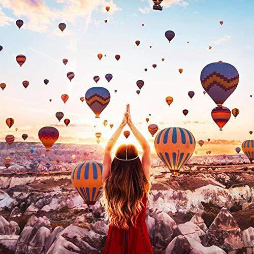 LYDXD Puzzles für Erwachsene Erwachsene Luftballons im Himmel Kinder Pädagogische Dekompression Dekoration Spielzeug 1500pcs