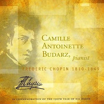 Camille Antoinette Budarz, pianist