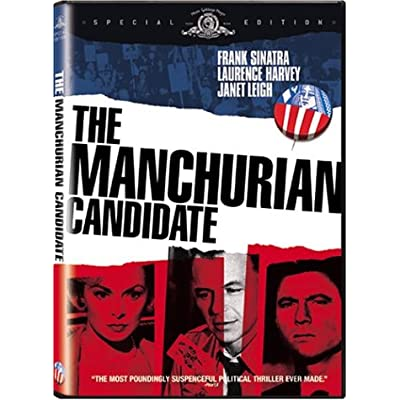 the manchurian candidate dvd