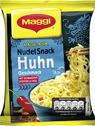 Maggi Magic Asia Nudelsnack-Packung Chicken 65g