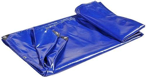 DJSMpb Baches épaississez la bache Anti-Pluie avec la Feuille de bache résistante d'oeillets Ombre auvent de Prougeection Solaire de Tissu imperméable 650gramm   carré (Taille   3mx4m)