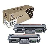 ZOOMTEC MLT-D116L Cartucho de tóner Compatible para Samsung Xpress SL M2625 M2625D M2626 M2675 M2675F M2675FN M2676 M2825 M2825DW M2825ND M2826 M2835DW M2875 M2875FD M2875FW M2876 (2 Negro)