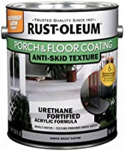 RUST-OLEUM 262365 Gallon Dove Gray Satin Porch and Floor Urethane Finish Paint
