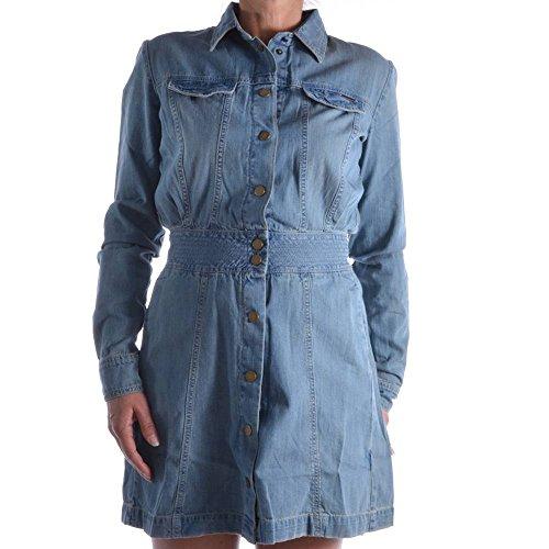Guess Damenkleid Gr. M 110 W62K21D1GZ1 Denim CRUI Damen Kleid Kleider Jeanskleid