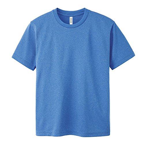 [グリマー] 半袖 4.4oz ドライTシャツ (クルーネック) 00300-ACT ミックスブルー 3L (日本サイズ3L相当)