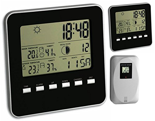 TFA Dostmann Funkwetterstation Quadro 35.1098 (mit 2 Display)