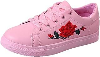 comprar comparacion Yesmile Zapatos de mujer❤️Moda de Las Mujeres Correas Deportivas Running Zapatillas Zapatos de Flores de Bordado Casual Pl...