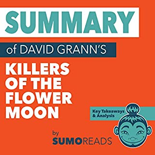 Couverture de Summary of David Grann's Killers of the Flower Moon: Key Takeaways & Analysis