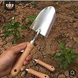 Herramientas de jardín Pala pequeña Pala de excavación en Maceta Plantación de Flores Escarificador de elevación