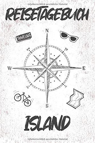 Reisetagebuch Island: Reisebuch für den Urlaub - inkl. Packliste zum Selberschreiben und Selbstgestalten | Erinnerung für Weltenbummler & Paare | Notizbuch als Geschenk für Flitterwochen