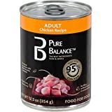 Pure Balance Chicken Canned Wet Dog Food, 12.5 Oz