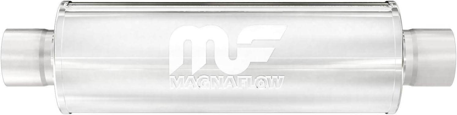 MagnaFlow 4in Round Center/Center Straight-Through Performance M