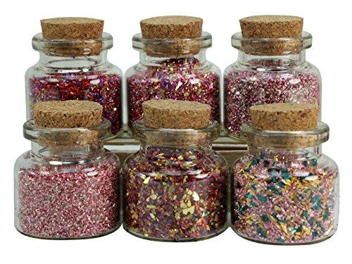 Pink Blends Glass Glitter Set - 311-M-0601