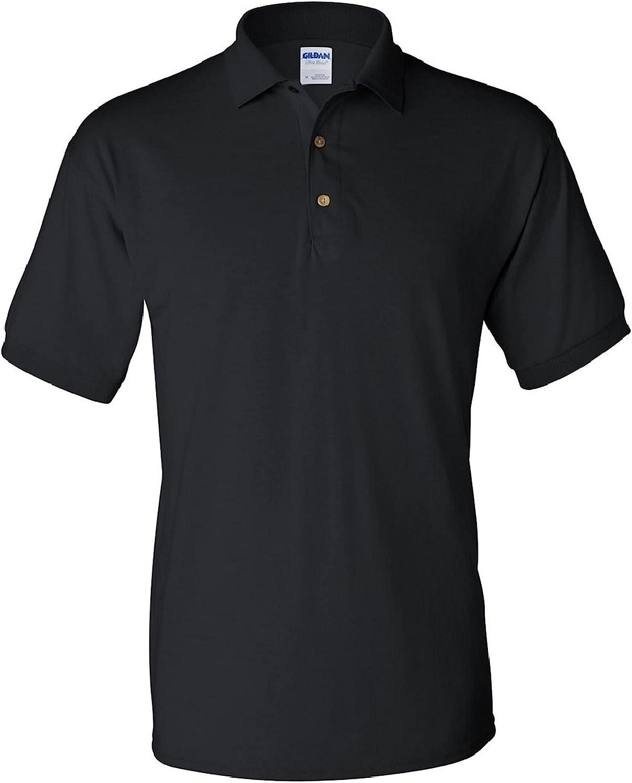 Gildan Adult DryBlend Jersey Short Sleeve Polo Shirt