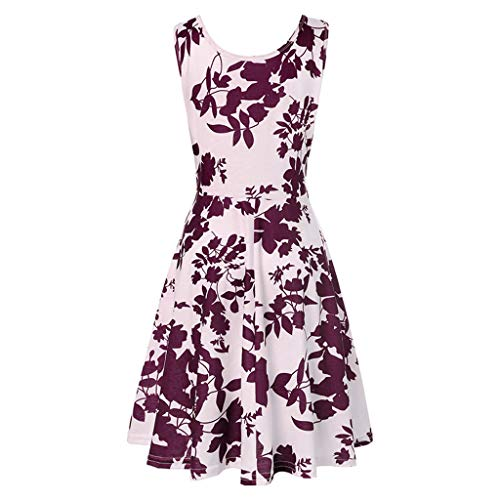 Great Price! ClearanceSale!Women Sleeveless Sundress, Lkoezi Lady Printing Floral Casual Dress Summe...