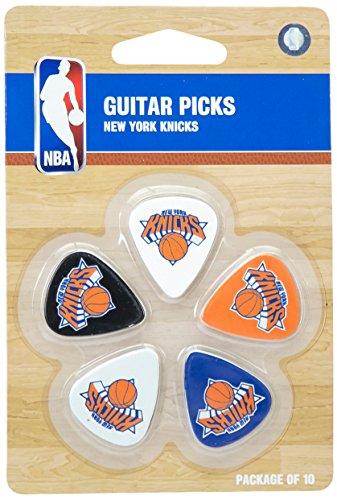 NBA New York Knicks Gitarrenplektrum, 2,5 cm x 4,5 cm, Blau, 10 Stück