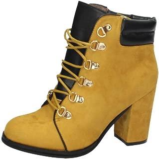 H.F Shoes ZY 023 Botas DE Agua Mujer Botas: Amazon.es