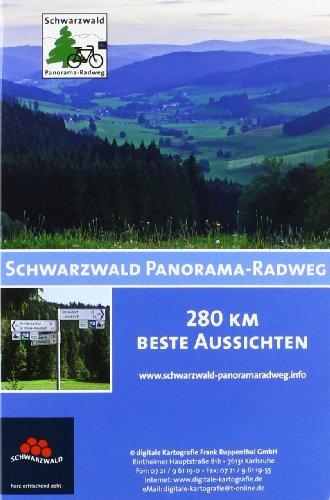Schwarzwald Panorama-Radweg: 280 km beste Aussichten von Pforzheim bis Waldshut-Tiengen mit E-Bike-Stationen