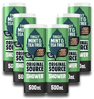 Original Source Mint & Tea Tree Vegan Shower Gel with 100% Natural Fragrance, Multipack of 6 x 500ml (B07GVNJPH3) | Amazon price tracker / tracking, Amazon price history charts, Amazon price watches, Amazon price drop alerts