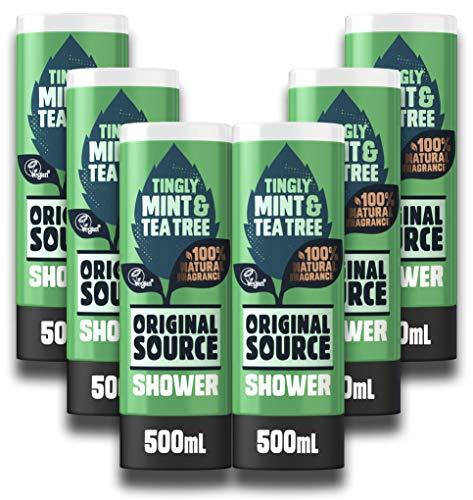 Original Source menta gel doccia, 500ml, confezione da 6