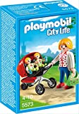 Playmobil City Life Mother with Twin Stroller figura de construcción - Figuras de construcción (Multicolor, Playmobil, 4 año(s), 10 año(s), Chica, 3 pieza(s))
