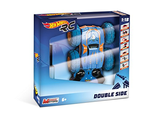 Mondo – Hot Wheels Doble Side teledirigido (Escala 1/18